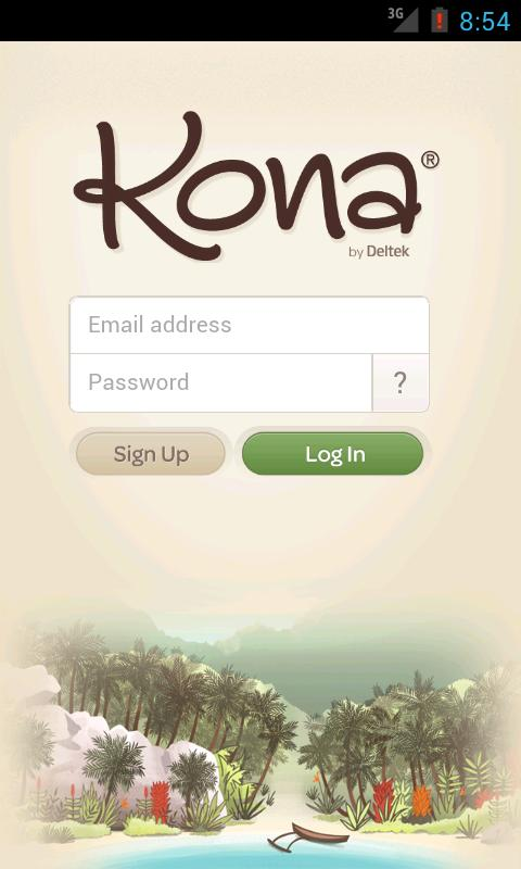 Kona- screenshot