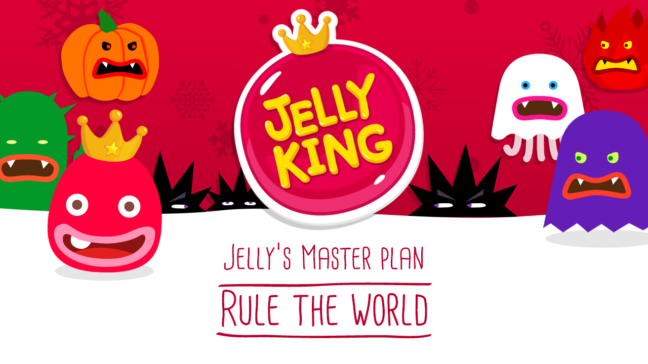 JellyKing : Rule The World - screenshot