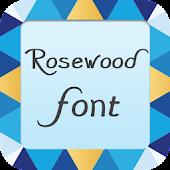 Rosewood font