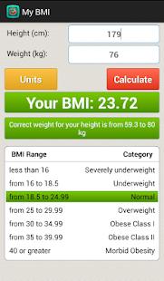 【免費健康App】身体质量指数BMI计算器-APP點子