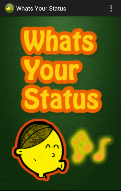 Whats Your Status- screenshot