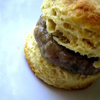 Sausage Biscuit.
