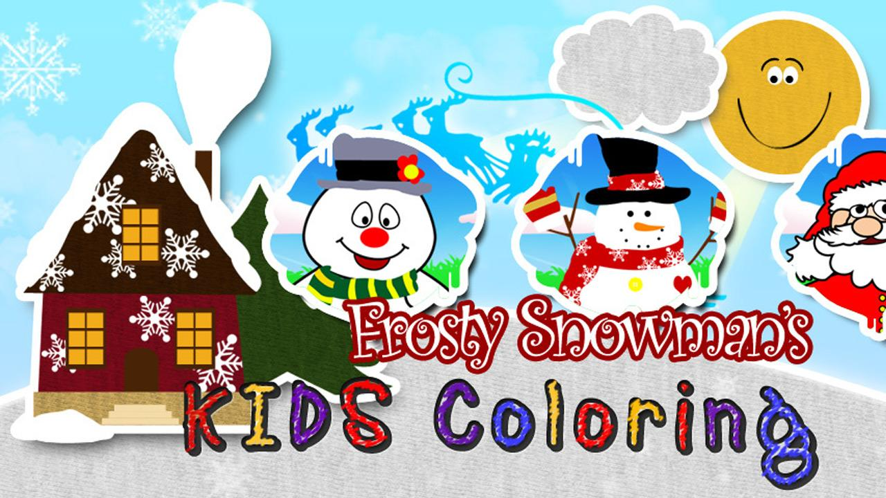 Xmas Coloring Book TABLET - screenshot