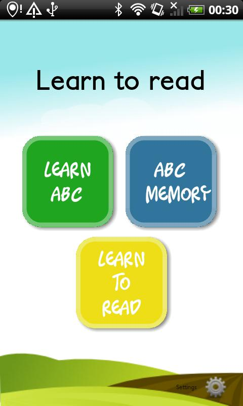 Learn to read (Learn ABC) FREE - screenshot