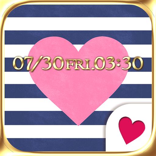 個人化必備App|可愛換裝桌布★Marine heart LOGO-綠色工廠好玩App