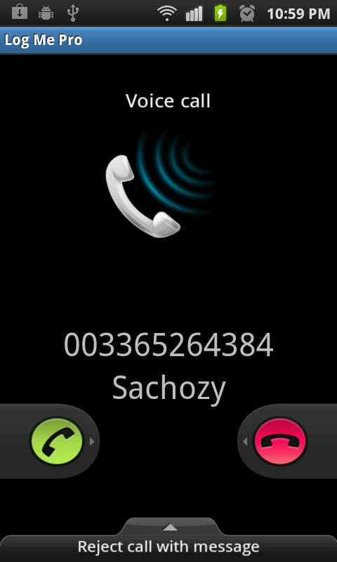 Fake Call/SMS Pro - screenshot