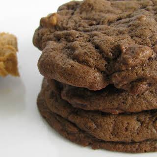 Dark Chocolate Peanut Butter Chip Cookies.
