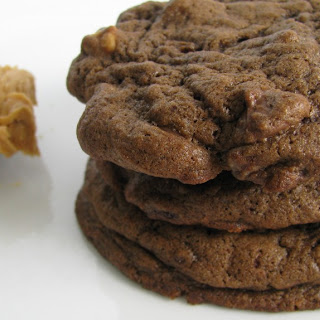 Dark Chocolate Peanut Butter Chip Cookies.