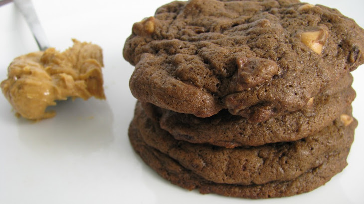 Dark Chocolate Peanut Butter Chip Cookies Recipe