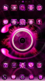 Pink EYE-Phone GO Launcher EX - screenshot thumbnail
