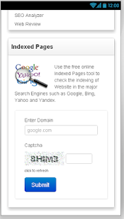 Article Spinner and SEO Tools - screenshot thumbnail