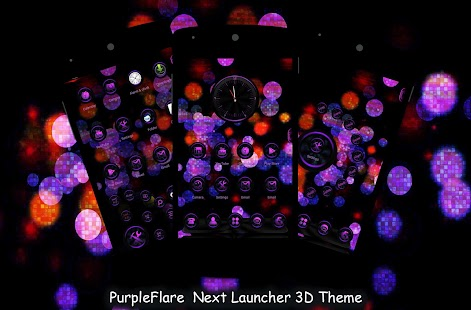 PurpleFlare Next Launcher Them