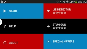 Screenshot of Police Sirens with Lights