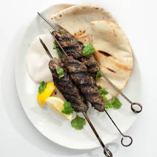 Grilled Lamb Kefta.