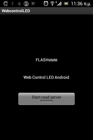 Web Control LED Android
