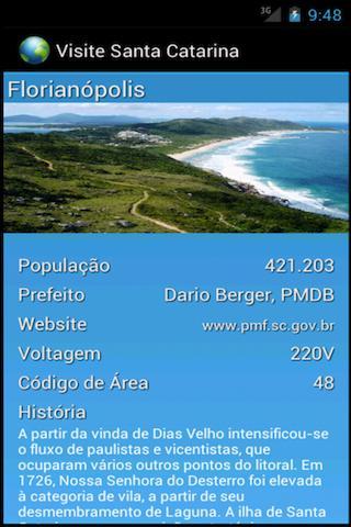 Visit Santa Catarina- screenshot