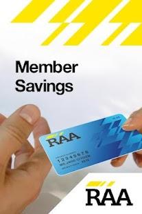 RAA Member Savings - screenshot thumbnail