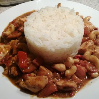 Chicken and Bacon Cajun Curry