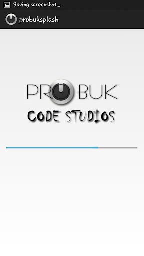 Probuk Splash Screen
