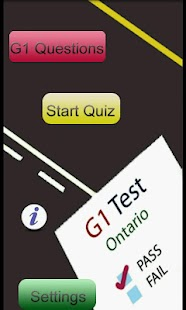 Ontario G1 Test - Best G1 App