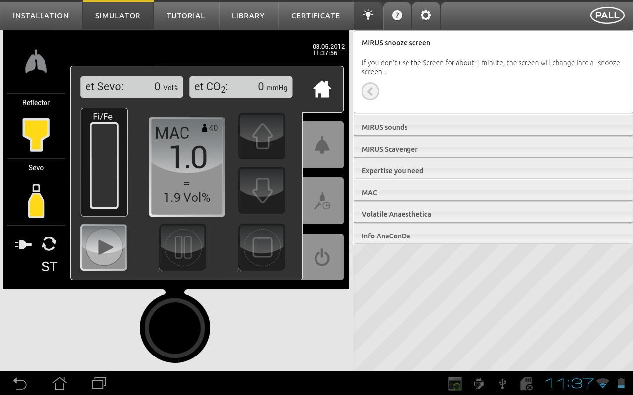 MIRUS Explorer- screenshot