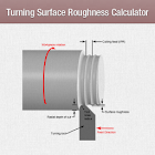 Turning Surface Roughness Calc icon