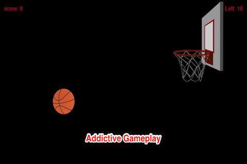 フープバスケットボールスポーツに円弧