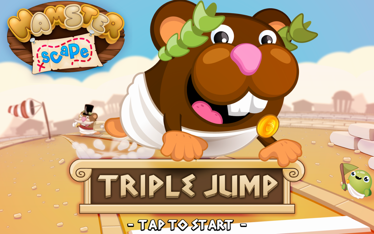 Hamsterscape: Triple Jump- screenshot