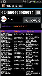 International Package Tracker - screenshot thumbnail