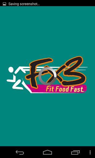 Fx3 Fit Food Fast