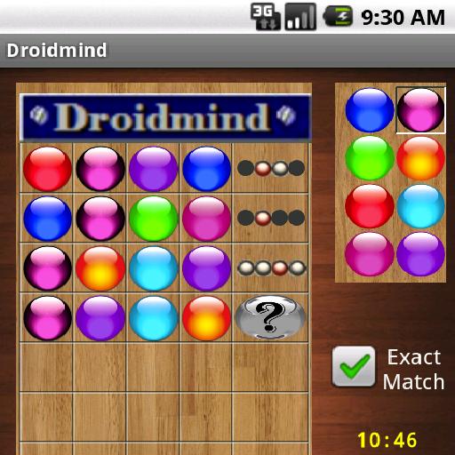 DROIDMIND  Mastermind