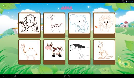 Game Belajar Mewarnai Gambar  screenshots 4