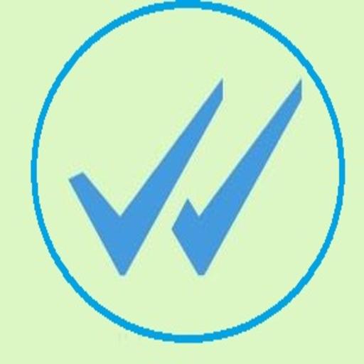 Doble Check Azul WhatsAp