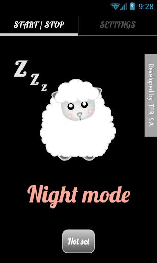 Talking Night Mode