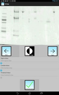 Gelapp: DNA&Prot Gel Analyzer- screenshot thumbnail