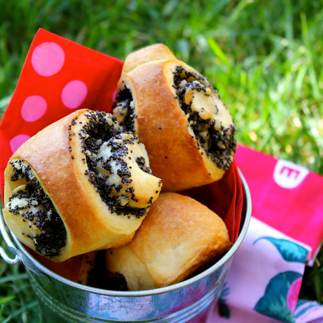Poppy Seed Brioches