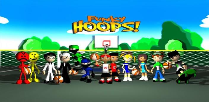 Funky Hoops - веселый баскетбол скачать на андроид