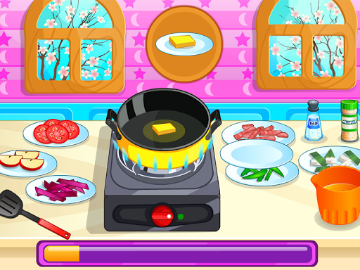 烹调您的菜肉卷饼