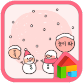 snow and dodol launcher theme