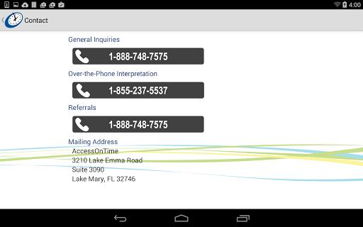 AccessOnTime 2.3 screenshots 15