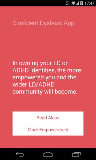 Confident Dyslexic App