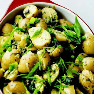 New Potatoes alla Savonesa.