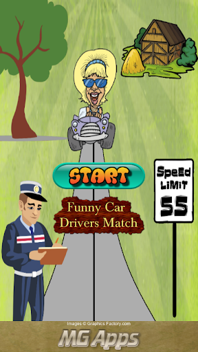 玩免費解謎APP|下載Funny Car Drivers Match app不用錢|硬是要APP