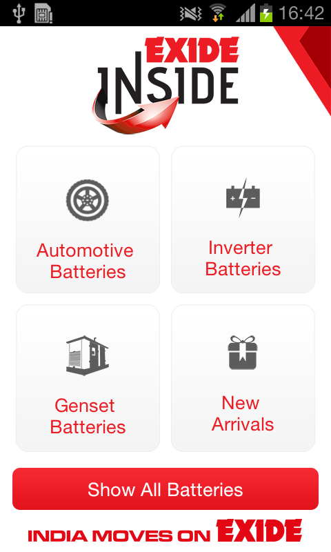 Battery App - EXIDE INSIDE - Android Apps on Google Play