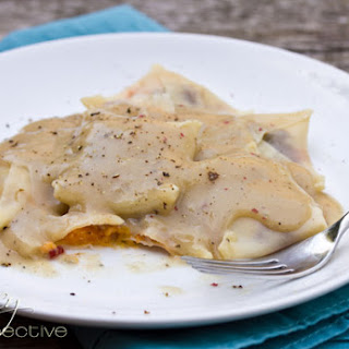 Thanksgiving Leftovers Ravioli