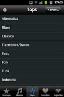 Screenshot of Rádio Palco