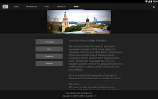 Screenshot of IBT Moscow