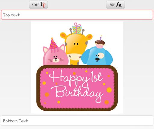 【免費生活App】วันเกิดแต่งรูป การ์ดวันเกิด-APP點子