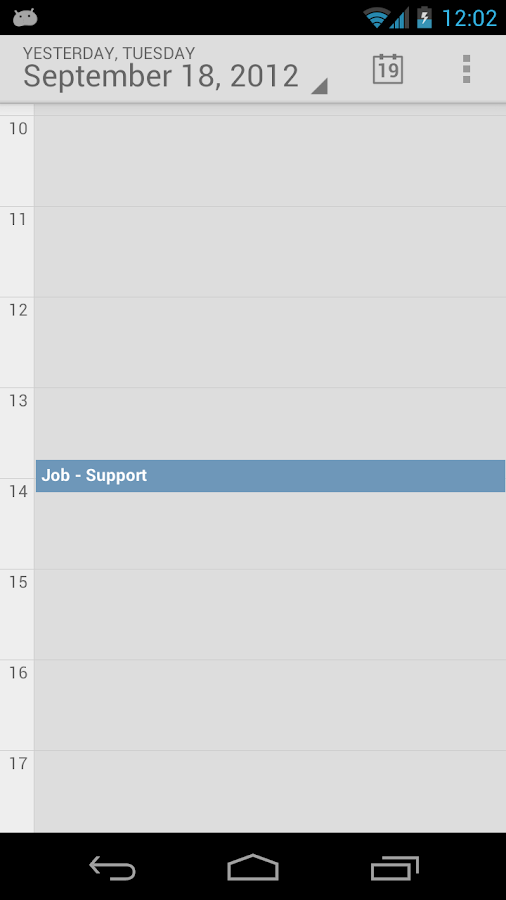 Quick Calendar Appointment- screenshot