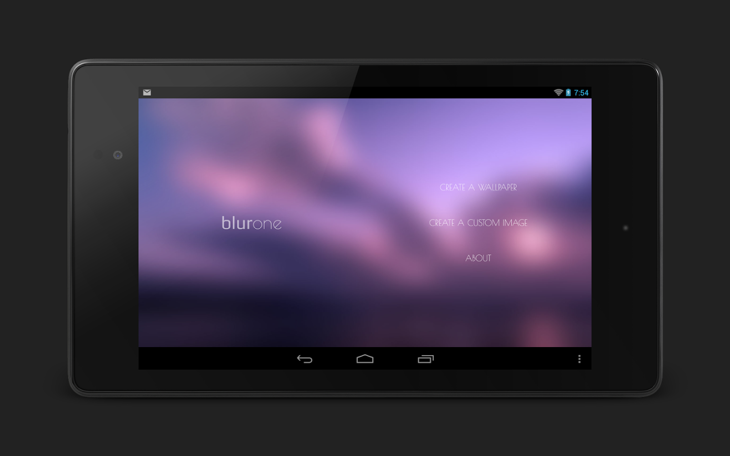 Blurone -Blur effect wallpaper - screenshot
